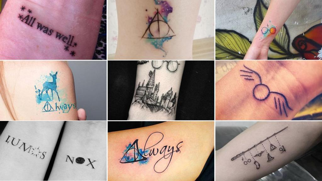 Tatuajes inspirados en Harry Potter