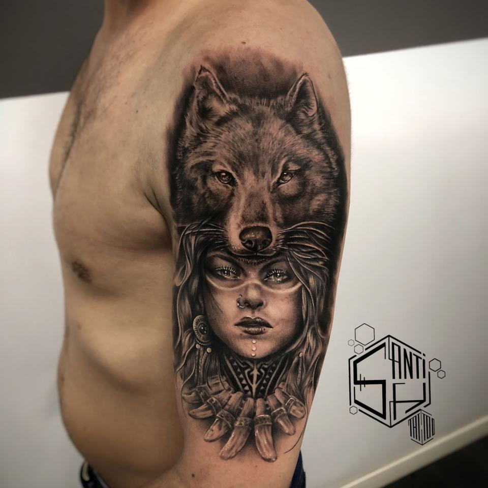 Tattoos De Realismo De Santi H En Ink Sweet Tattoo Madrid
